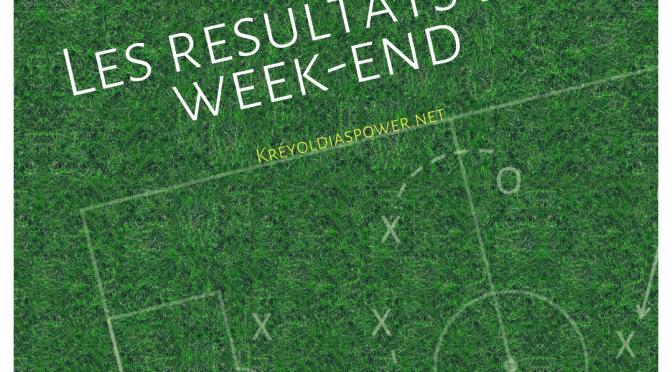 Résultats du week-end : 29/03/19